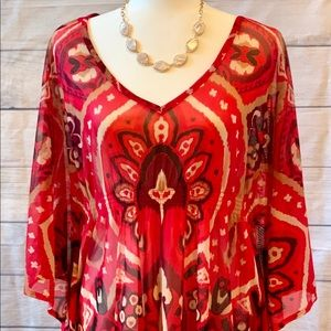 Gently used Inc  Concepts tunic size XL